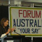 "Forum Australia: ""Gen Y- Why Not?"""
